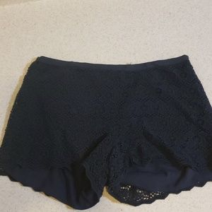 NWOT Fossil lace shorts